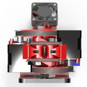Itty Bitty Double Extruder-Top
