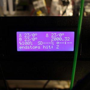 LCD Z Offset