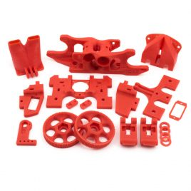 Printed Parts for Itty Bitty Double FLEX V2 Extruder