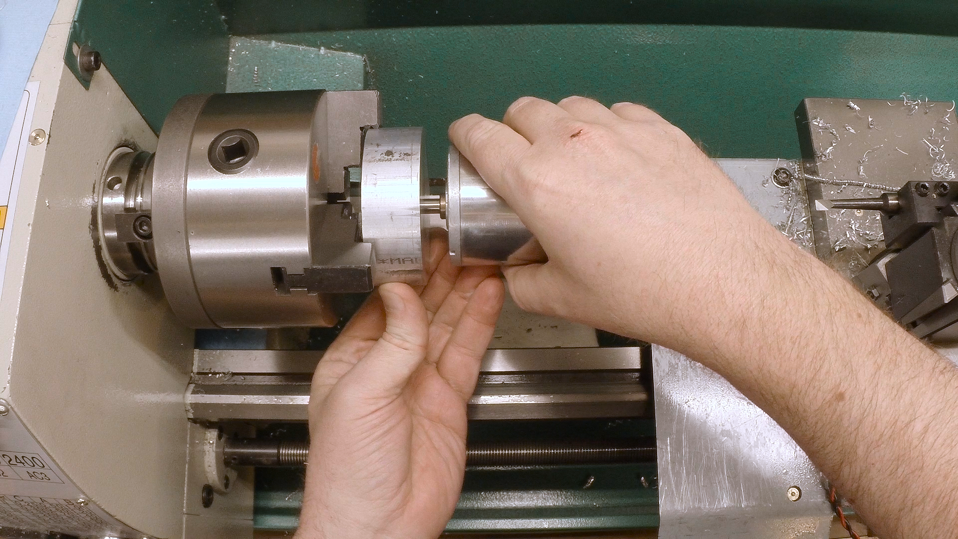 tool post grinder. boring testing the fit tool post grinder