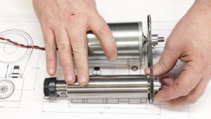 Looking like a toolpost grinder