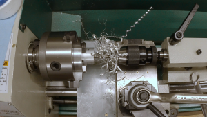 Drilling a starting hole