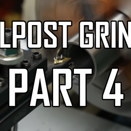 Toolpost Grinder Part 4:  Fitting the Caps