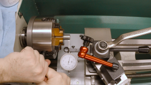 Dialing in the collet holder
