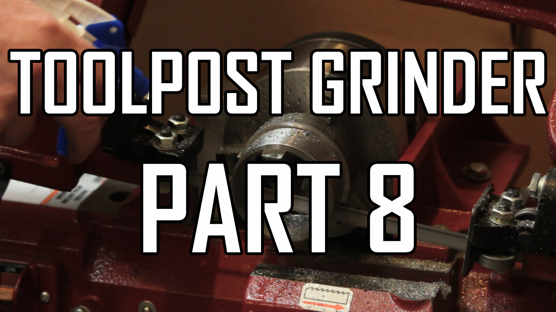 Toolpost Grinder Part 8:  Making the Eccentric