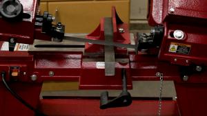 Cutting the raw stock