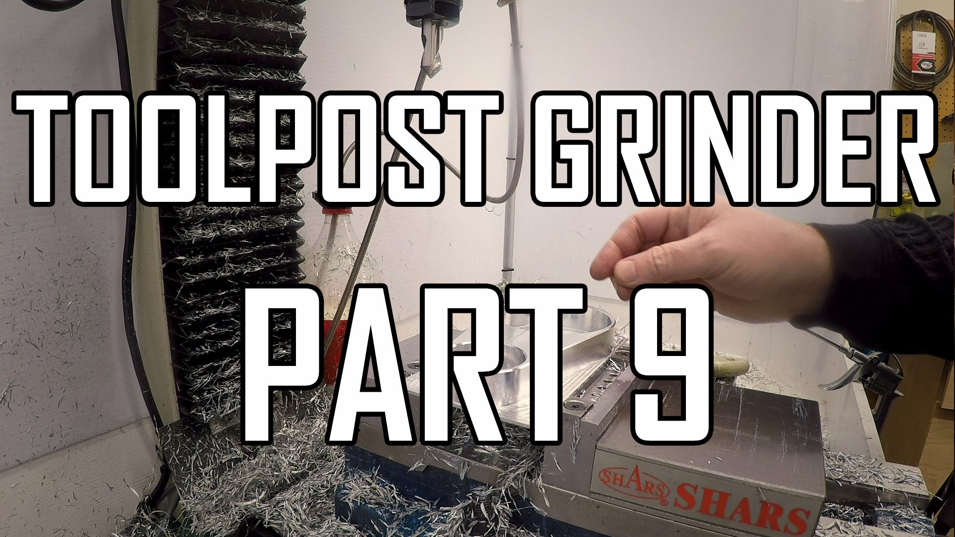 Toolpost Grinder Part 9: Motor Clamp 1
