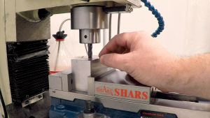 Zeroing the tool in the collet