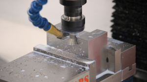 Milling the dovetail