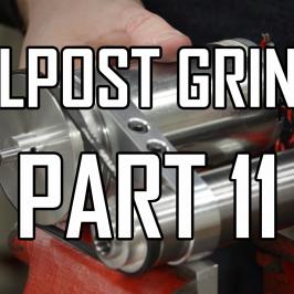 Toolpost Grinder Part 11