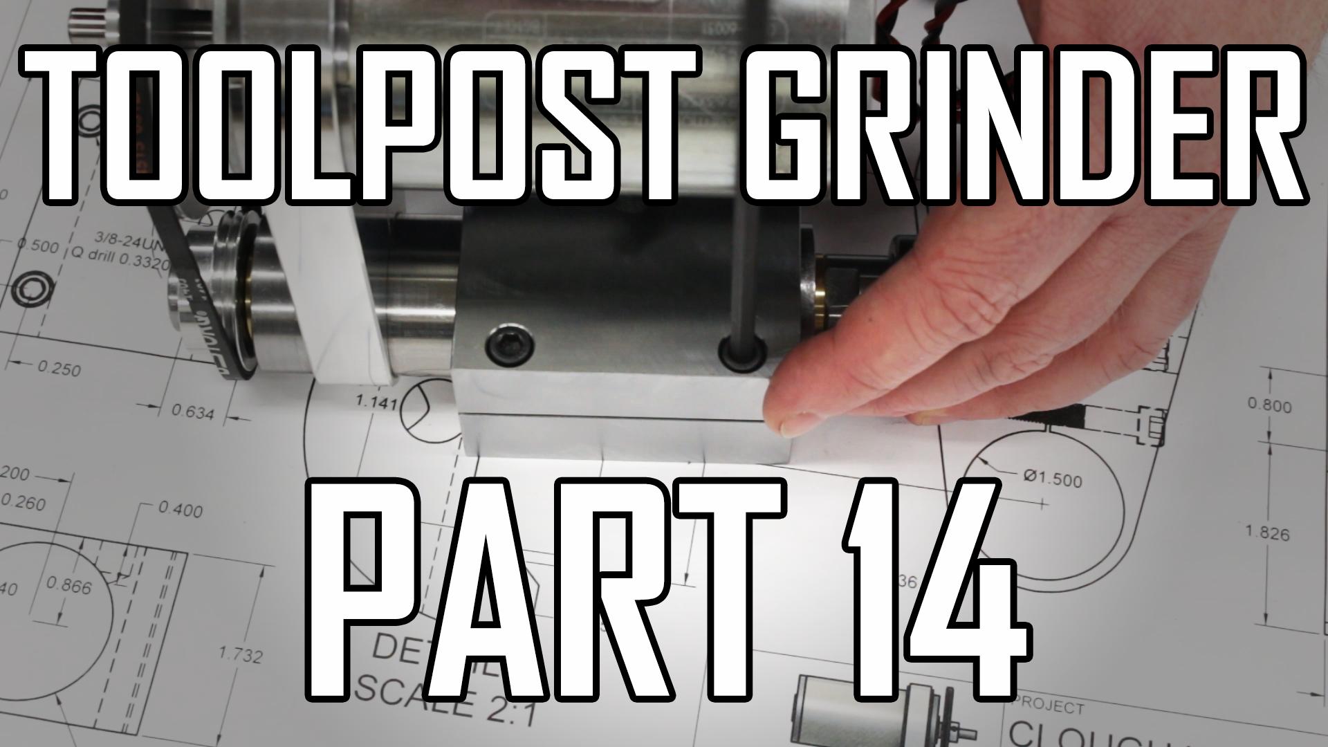 Toolpost Grinder Part 14: Motor Clamp 3