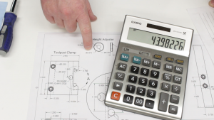 Calculating the knurl dimensions