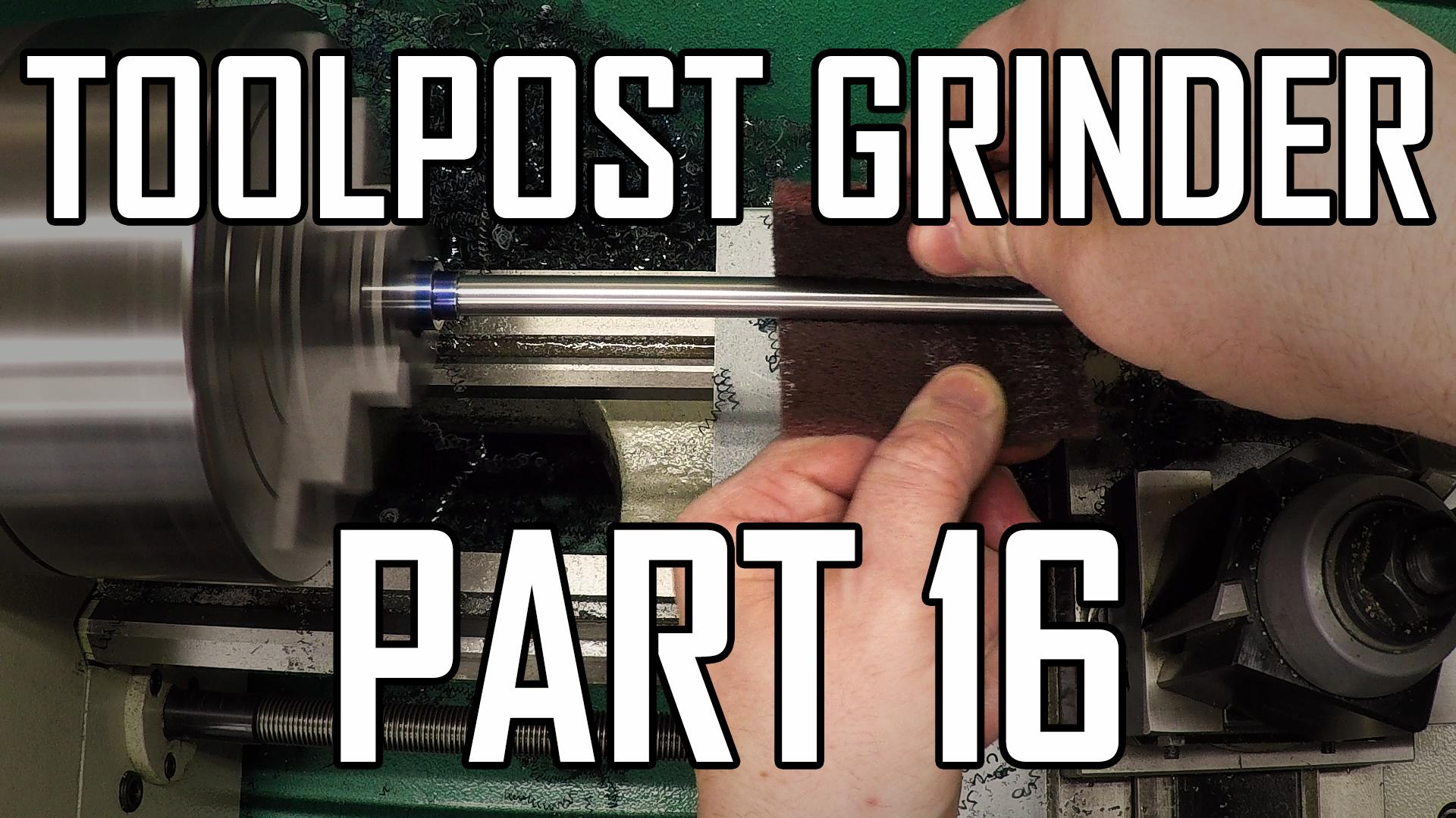 Toolpost Grinder Part 16: Making the drawbar 1