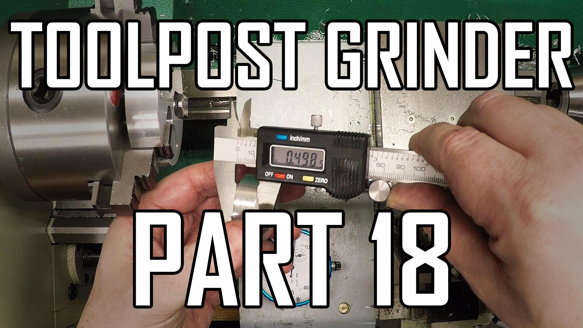 Toolpost Grinder Part 18: Wheel Arbor 1