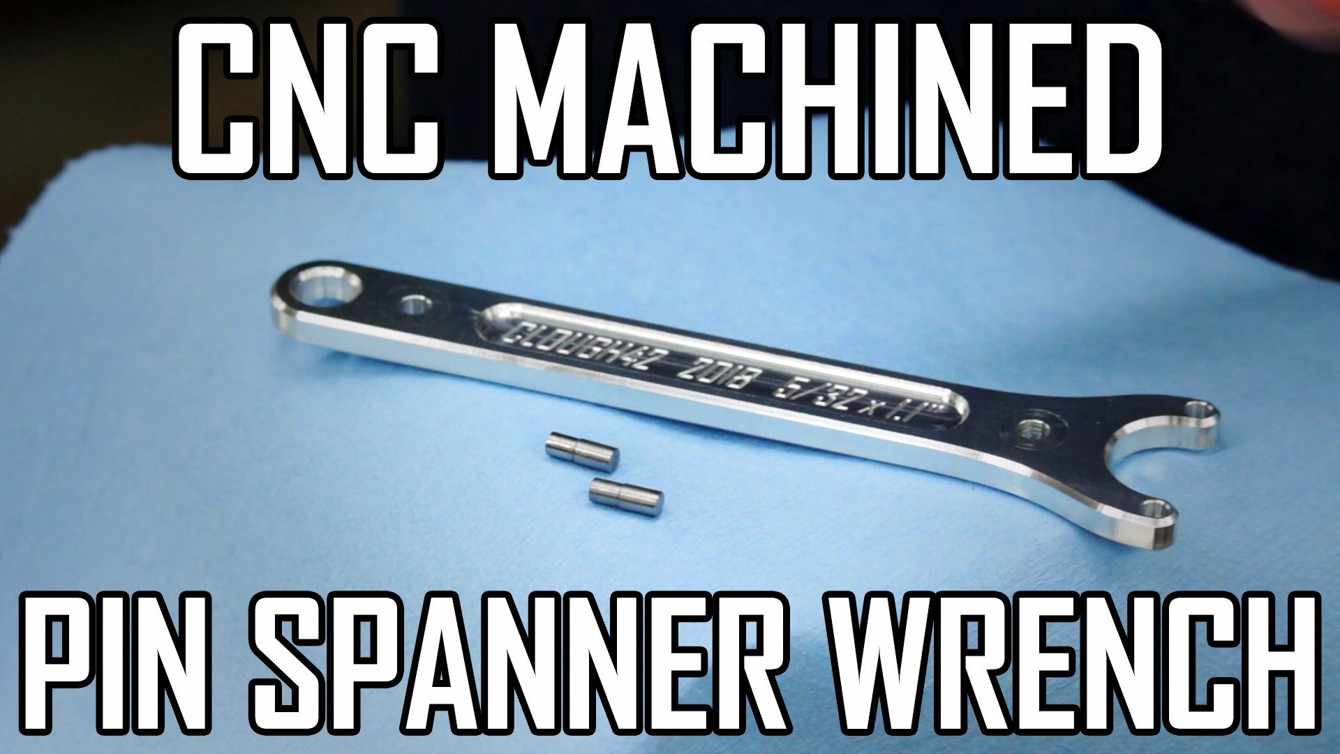 CNC Machined Pin Spanner Wrench