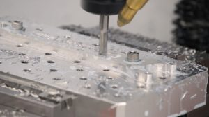 Milling a pocket for the engraving