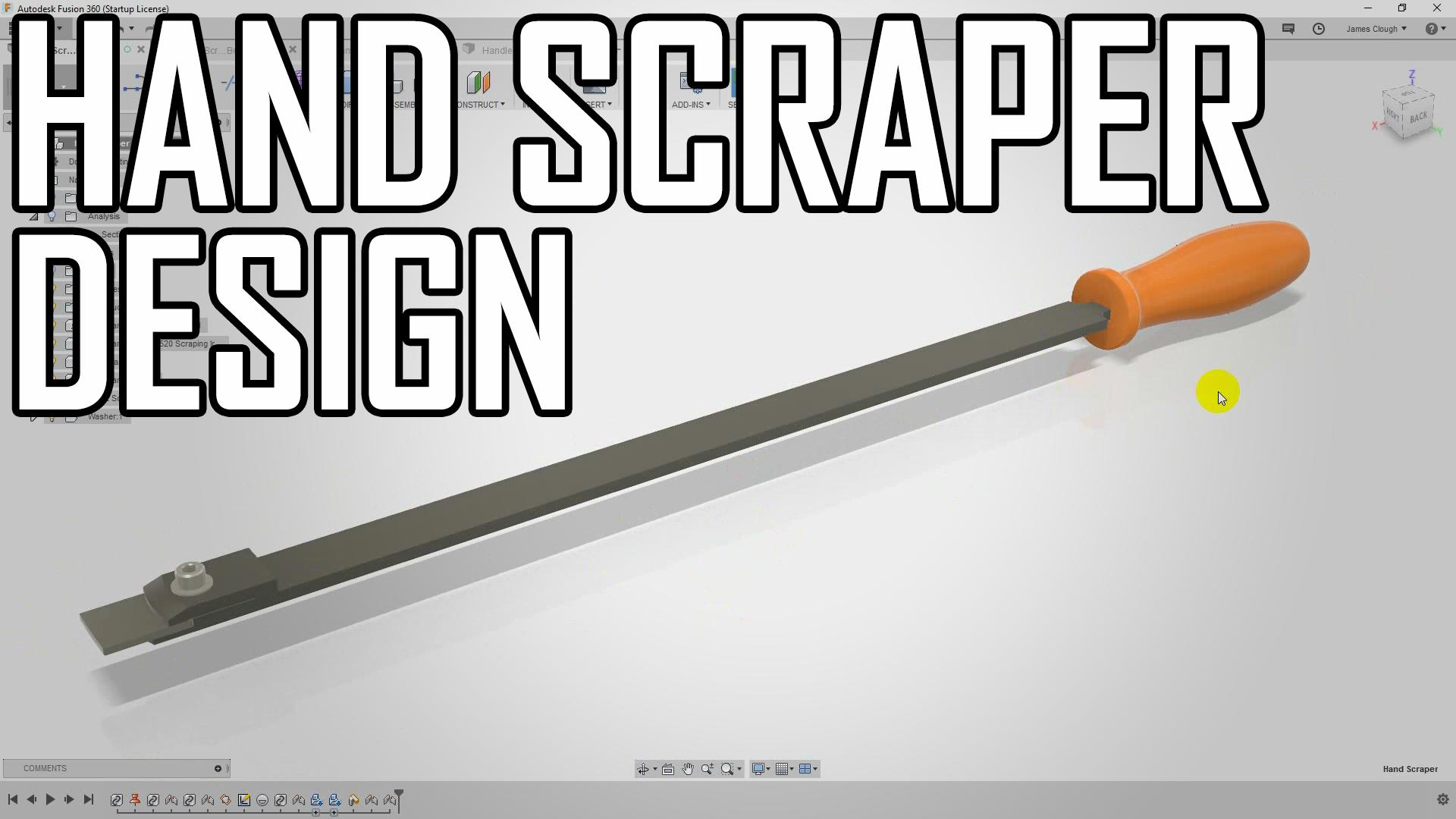 Hand Scraper 1: Design Overview