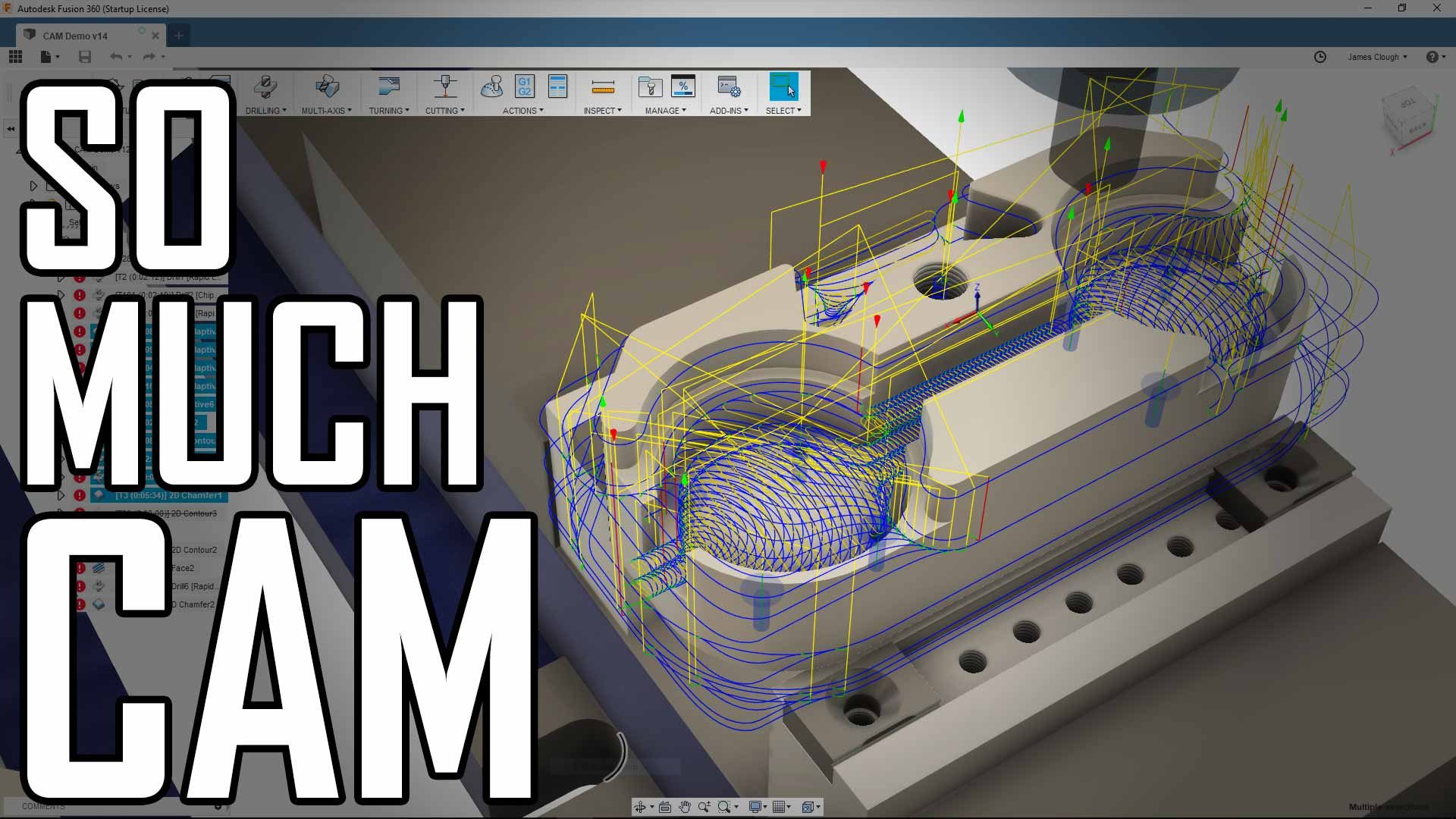 Toolpost Dial Indicator Part 5: Fusion 360 CAM Deep Dive