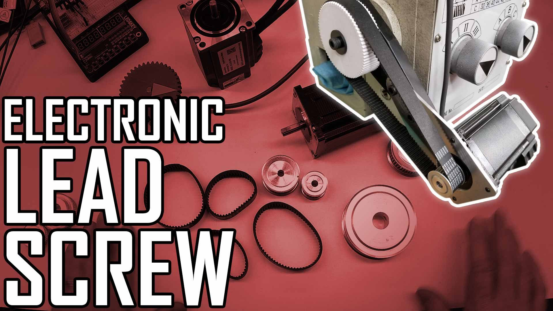 Lathe Electronic Leadscrew Part 5: Mounting the Encoder and Servo on the Lathe