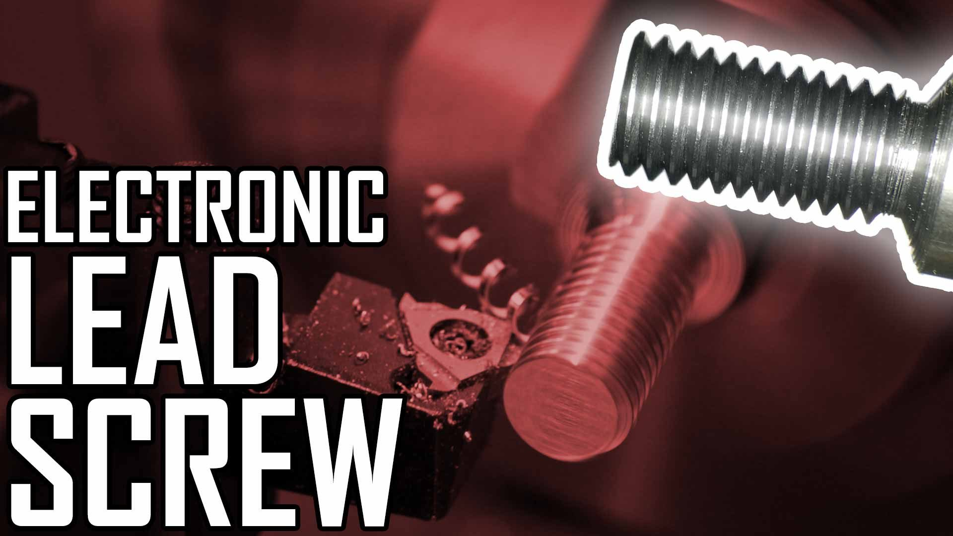 Lathe Electronic Leadscrew Part 6: First Test Cuts!