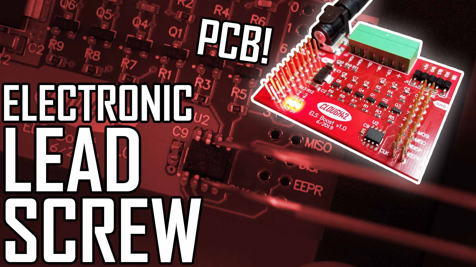 Lathe Electronic Leadscrew Part 8: PC Board Assembly