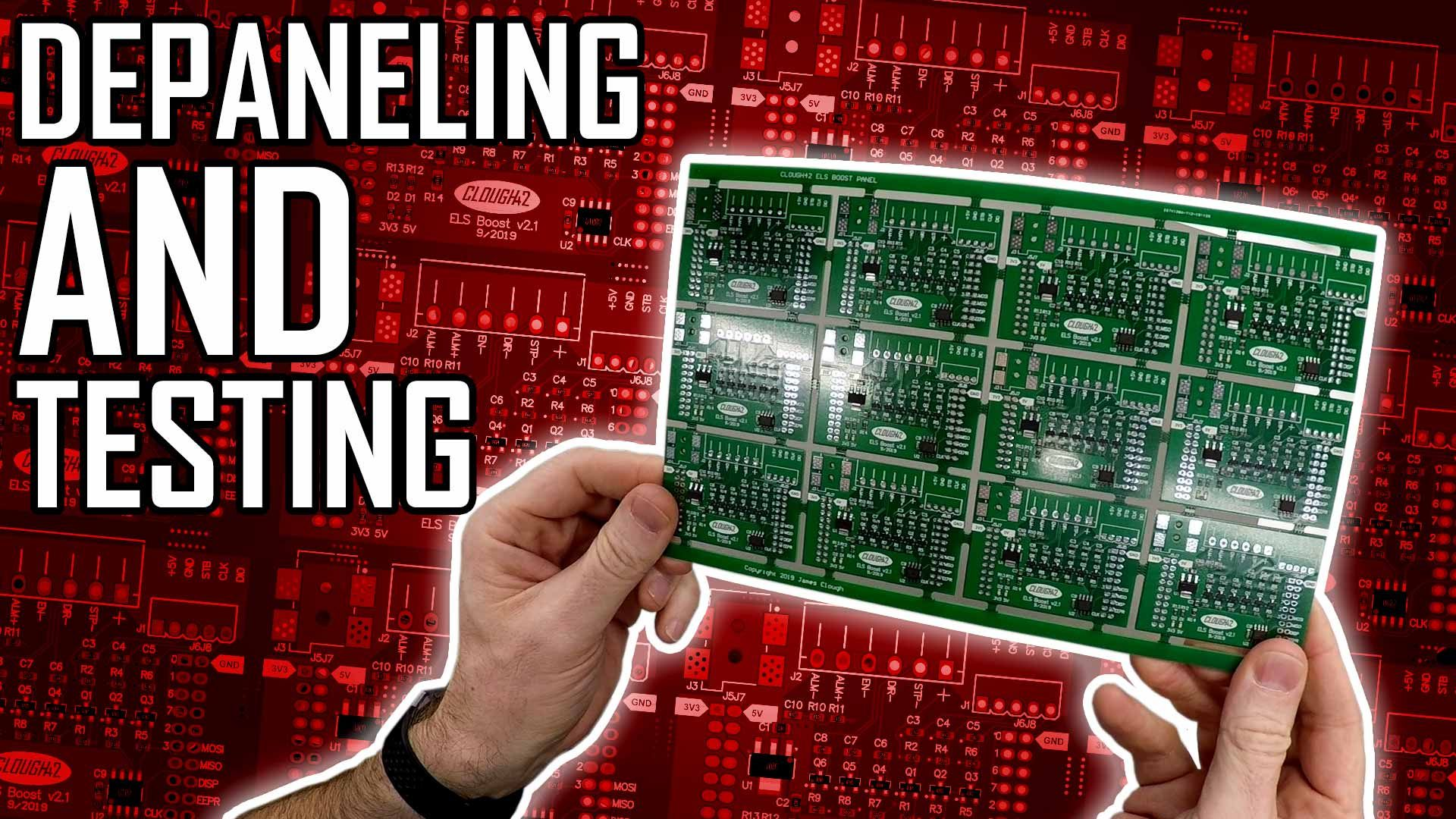 Panelizing PCBs Part 2: Depaneling and Testing