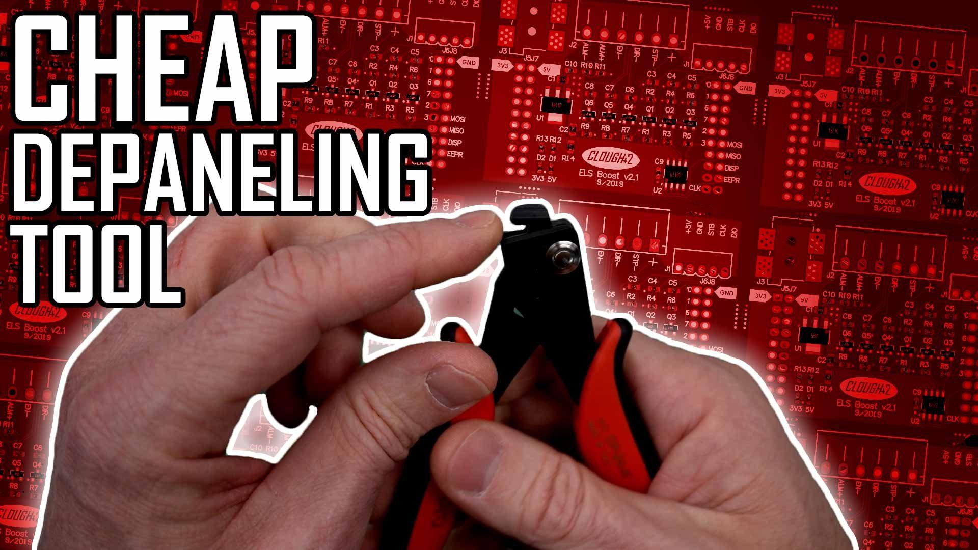 Panelizing PCBs Addendum: Hakko Depaneling Tool