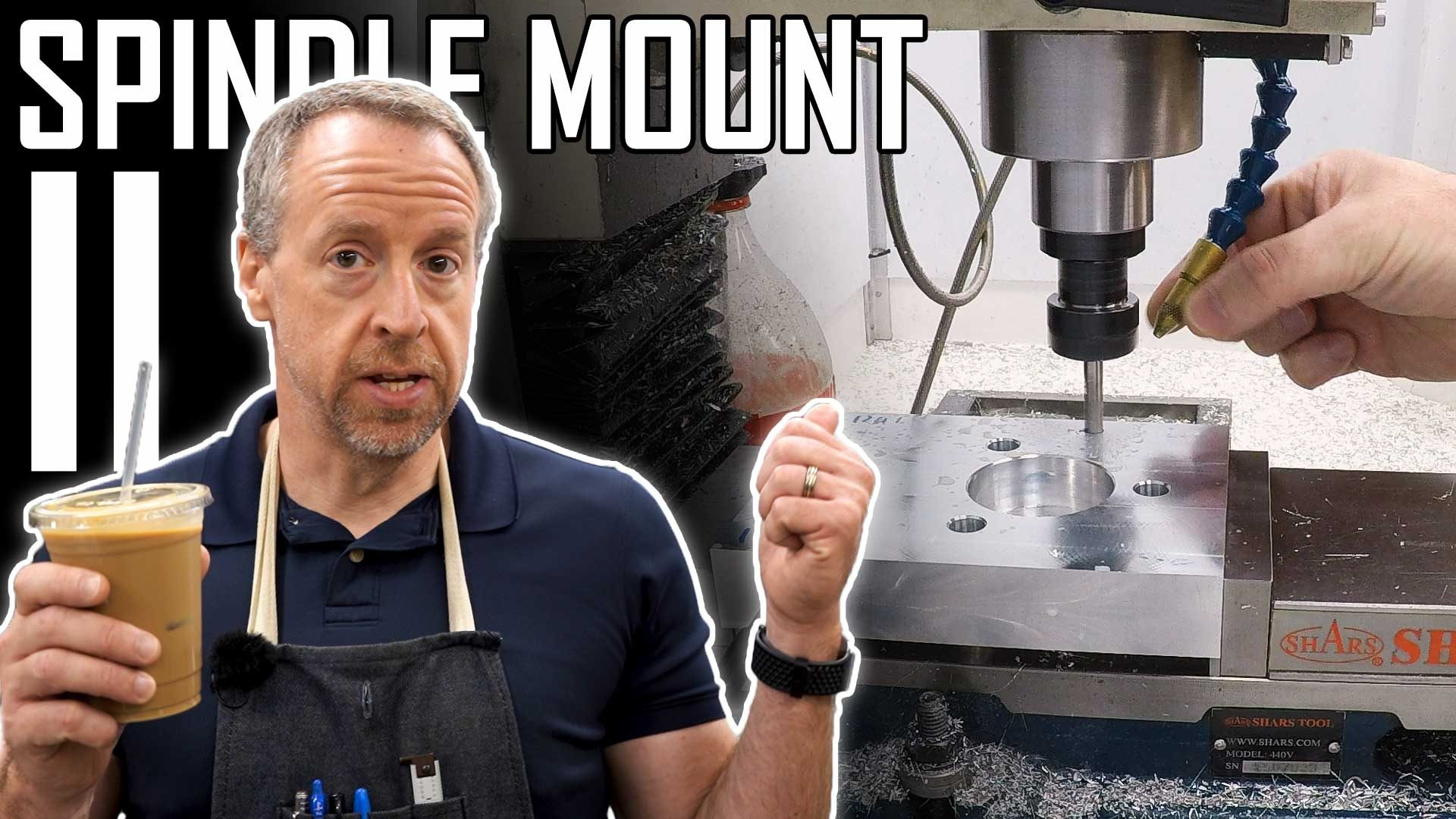 ATC Spindle Part 5: Making the Spindle Mount II