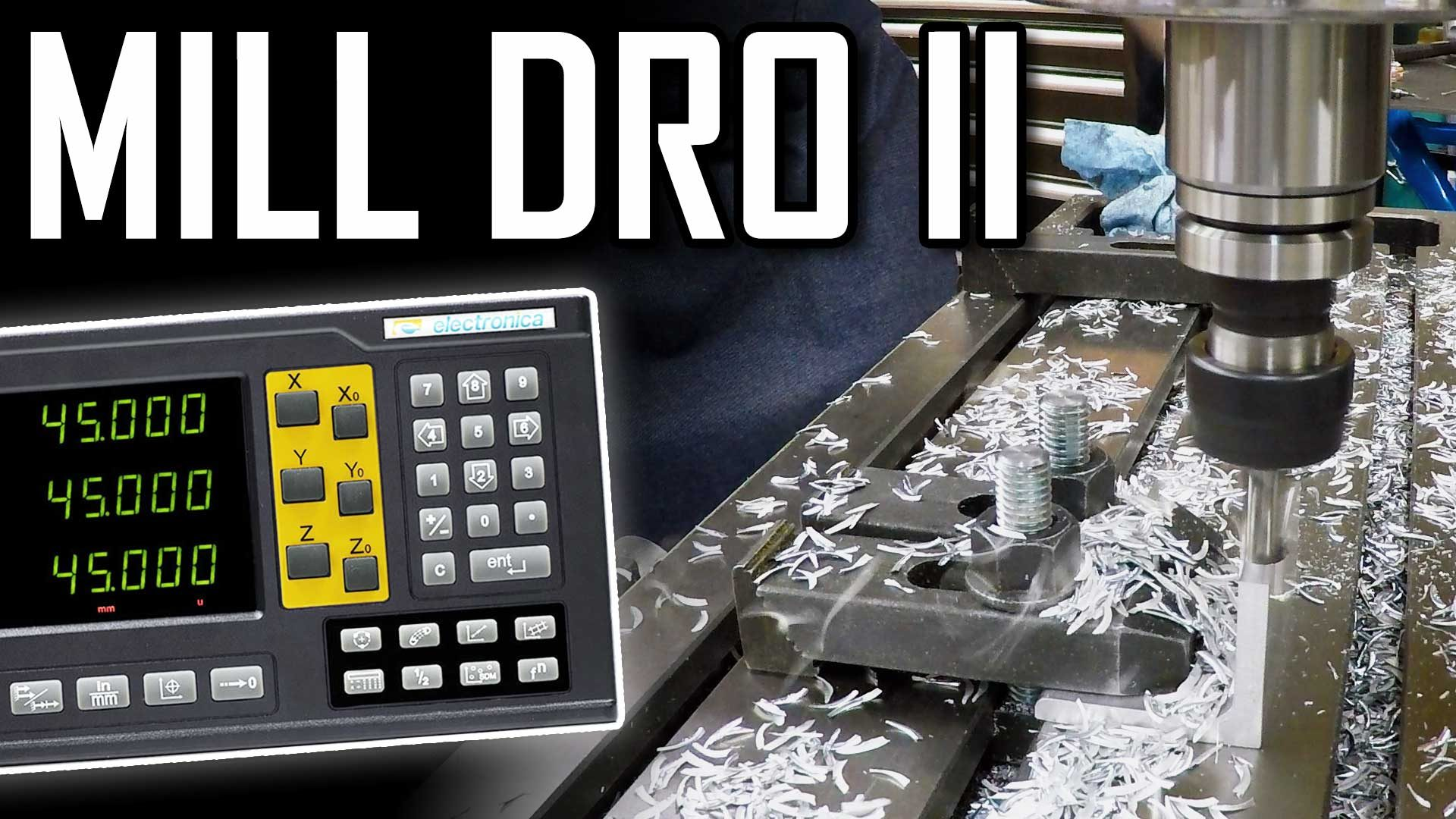 Installing a DRO on a PM-940 Milling Machine – Part 2 – 4-Axis EL400