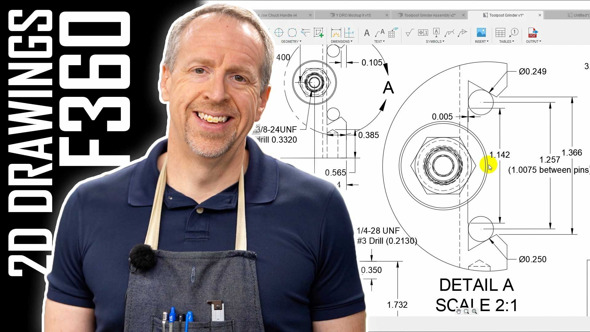 Creating Shop Drawings in Fusion 360   Tutorial