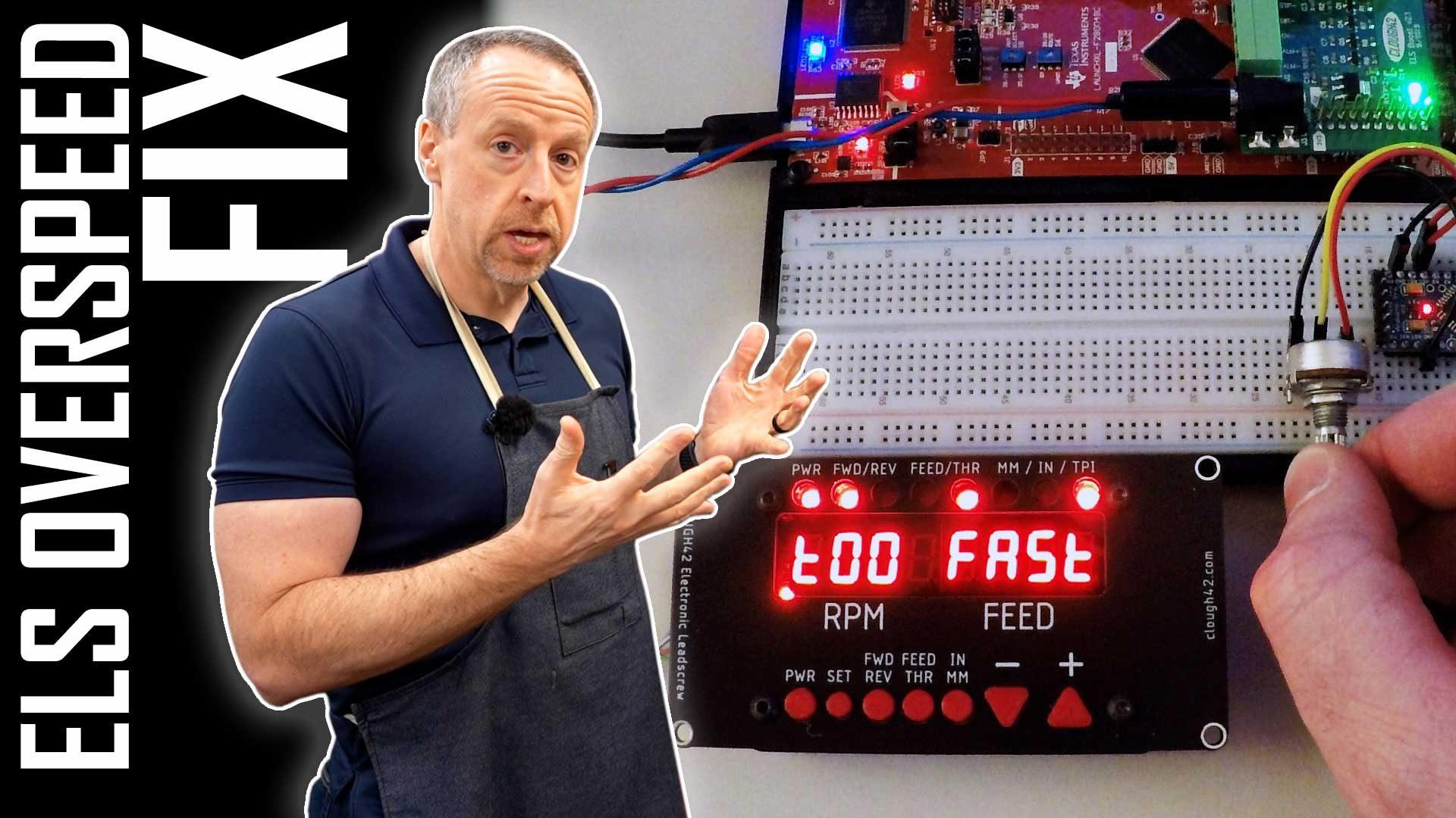 Overspeed Error Detection | Lathe Electronic Leadscrew – Part 21