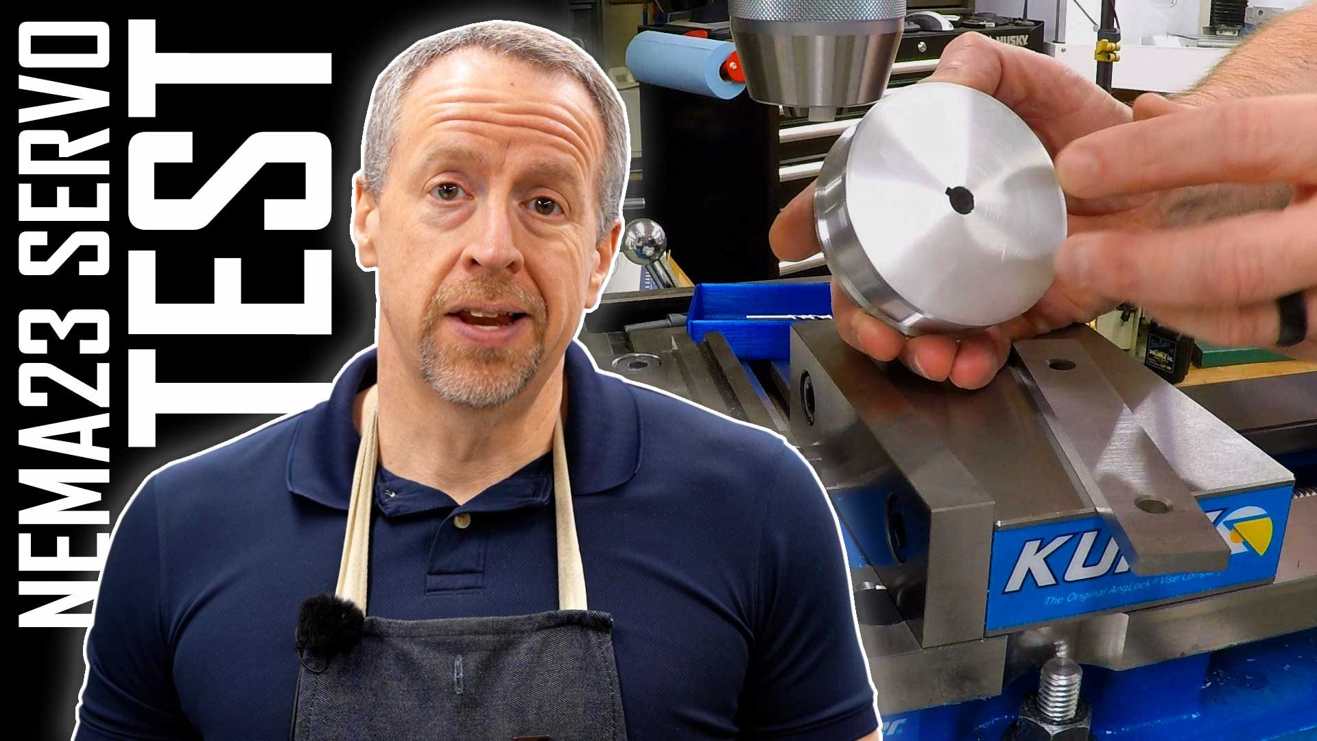 Testing NEMA23 Servos – Making Torque Spools | ELS Part 23