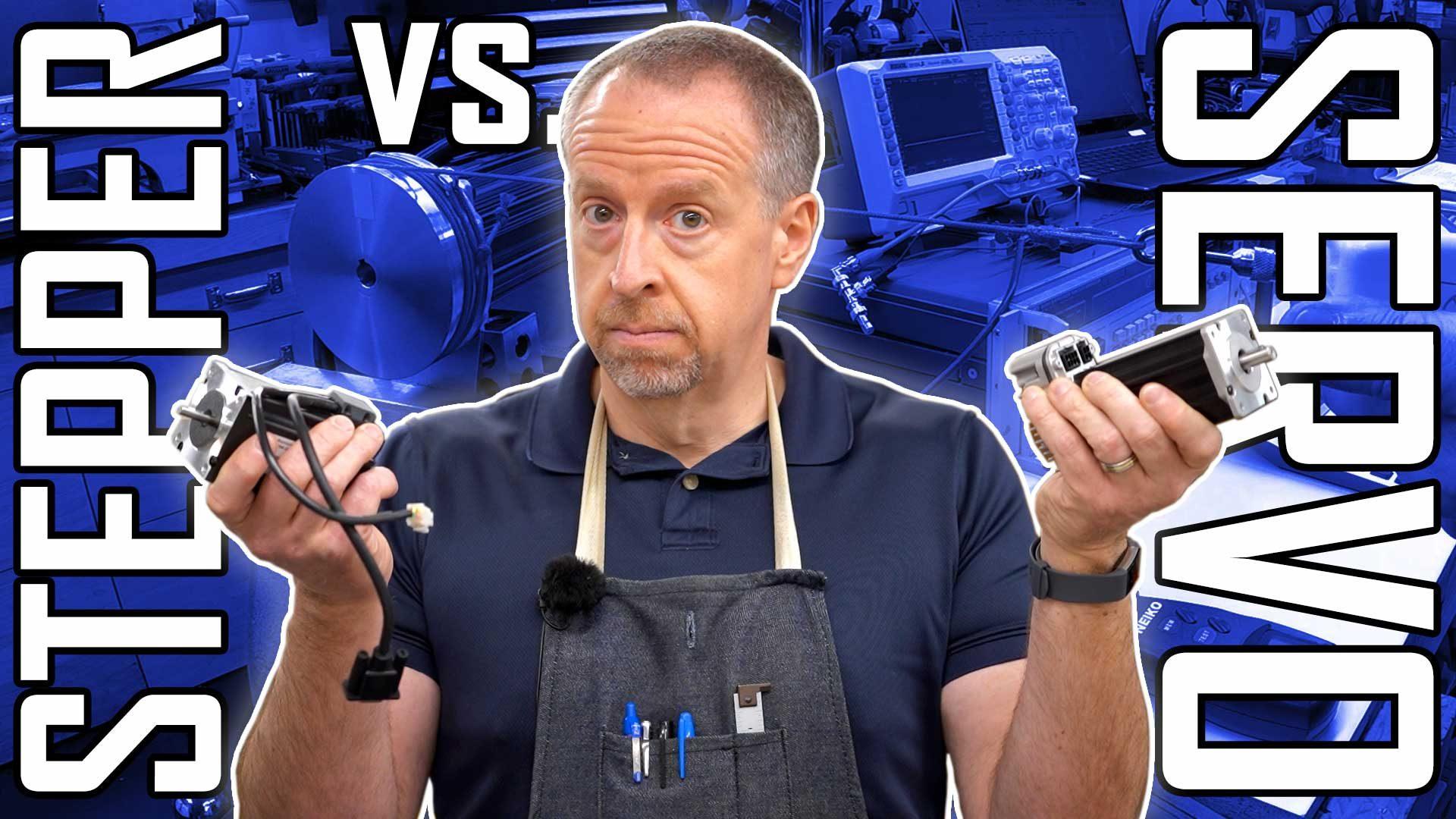 What's the best NEMA23 Stepper/Servo? | Electronic Leadscrew Part 24