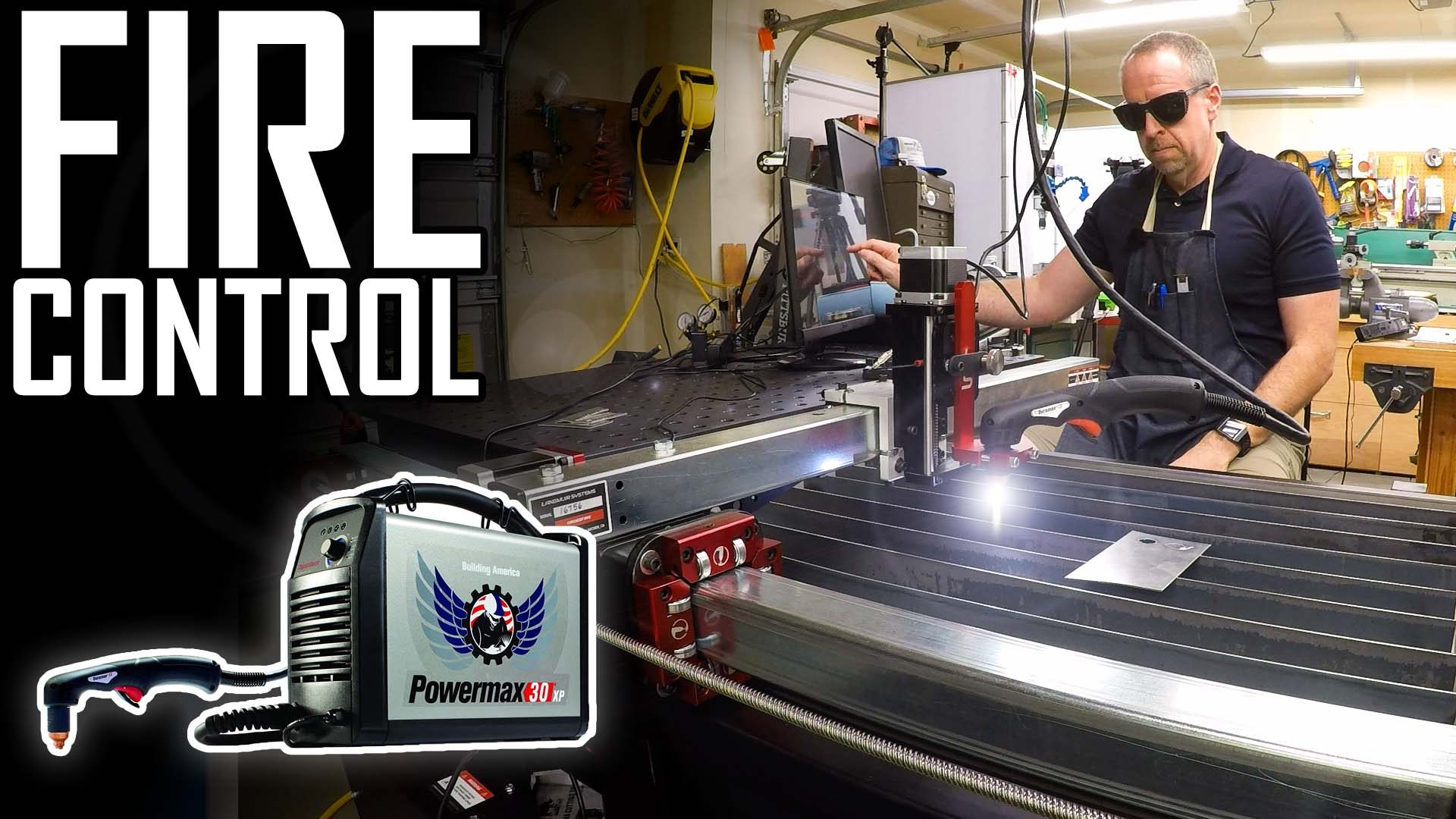 Don't try this at home: Wiring a plasma cutter for CNC   Hypertherm Powermax 30 XP